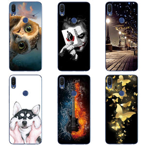 Cat Dog Patterned Case For Asus ZenFone Max Pro M1 ZB602KL Silicone TPU Soft For Asus ZB602KL ZB601KL X00TD Case Back Cover