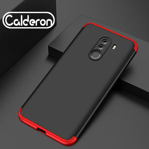 (Not Protector) For Xiaomi Redmi 6A Case 360 Degree Full Back Cover Case For Xiaomi Pocophone F1 Poco F1 Cases Plastic Shell Bag