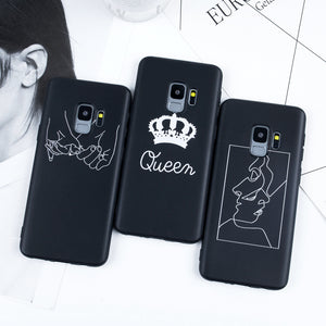 Phone Cases For Samsung Galaxy S7 Edge Case S8 S9 Plus Note 9 S8 S9 A5 2017 A5 A8 A6 Plus 2018 3D Relief Cartoon Silicone Covers