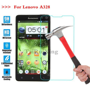 (TaiRuiXing) Screen Protector Film 0.3mm 9H 25D Front Premium Tempered Glass For Lenovo A328 A 328 Cover
