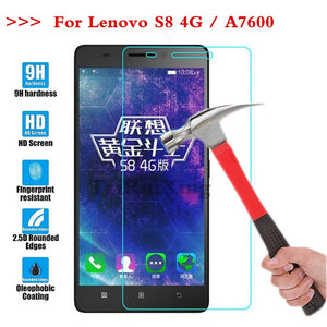 (TaiRuiXing) Screen Protector Film 0.3mm 9H 25D Front Premium Tempered Glass For Lenovo A7600 / S8 / A7600-M Cover