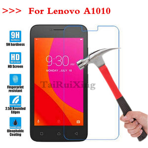 (TaiRuiXing) Screen Protector Film 0.3mm 9H 25D Front Premium Tempered Glass For Lenovo Lenovo A1010 A 1010 Cover