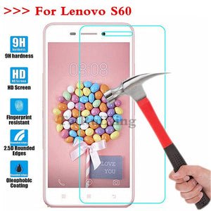 (TaiRuiXing) Screen Protector Film 0.3mm 9H 25D Front Premium Tempered Glass For Lenovo S60 S 60 Cover