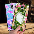 Mosirui For Samsung Galaxy Note4 N9100 Primepprimecase Protective Shell Soft Silicone Soft Shell Flowers Rose Female