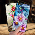 Mosirui ForHuawei Honor 4X Ase Protective Shell Soft Silicone Soft Shell Flowers Rose Female Models Cute Personality Edging