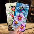 Mosirui Forsamsung Galaxy A7 2015A7000primecase Protective Shell Soft Silicone Soft Shell Flowers Rose Female Models Cute