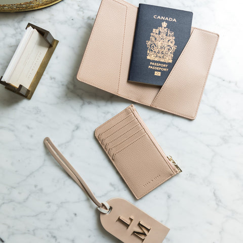 minimal passport holder