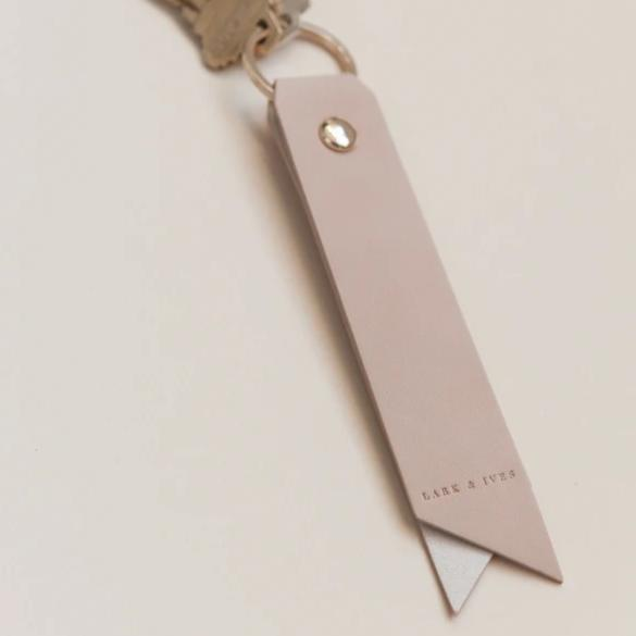 Lark and Ives Nude Keyholder / Key Ring / Key Chain / Vegan Leather Accessories
