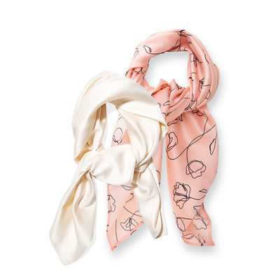 Minimalist Hair Scarf Bundle