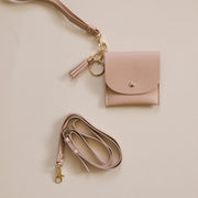 Lark and Ives Nude Adjustable Strap on Card Purse / Belt Strap / Wristlet / Wallet Strap