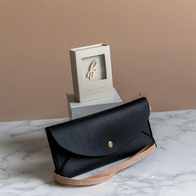 Envelope Crossbody Bag + Monogram Bundle