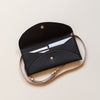 Lark and Ives Black Purse / Long Wallet / Slim Wallet / Small Purse / Vegan Leather Accessories