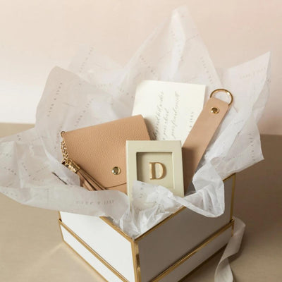 Card Purse + Monogram + Keyholder Giftset
