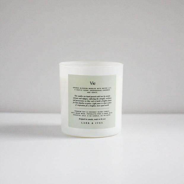 Vie - Orange Blossom Candle