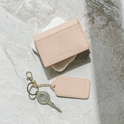 Petite Card Case Holder + Tag Keyholder Bundle