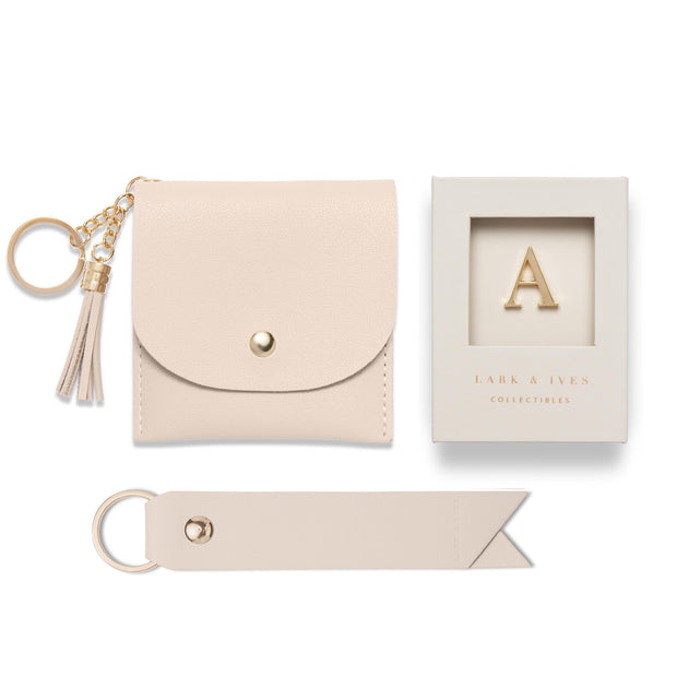 Card Purse, Keyholder and Monogram Bundle