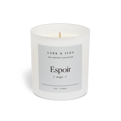 Lark and Ives Fig and Citrus Candle / Soy Candle / Ethically Made