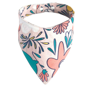 Peace and Florals Dog Bandana