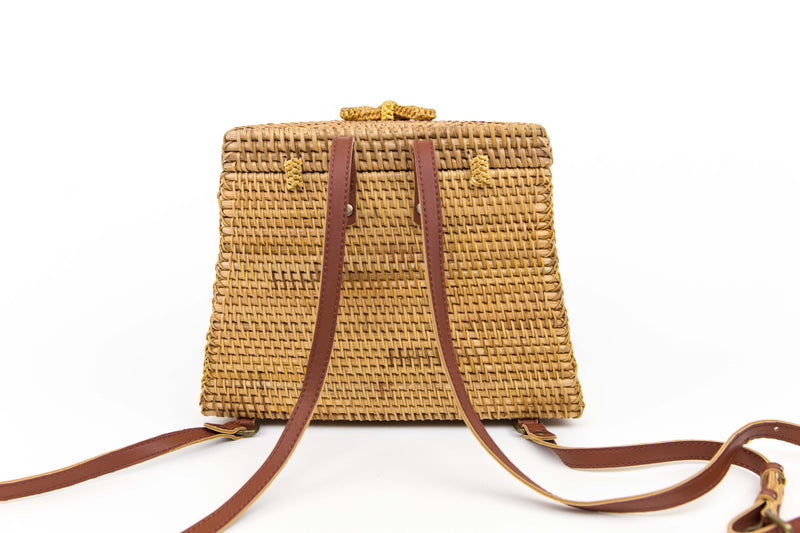 Rattan Backpack