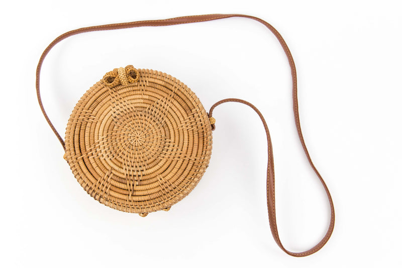 Star Large Rattan Bag