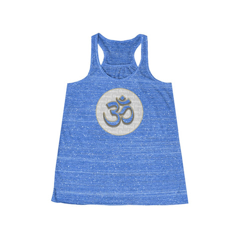 Flowy Racerback Tank (Omenuf Om Coin) 11 Color Choices