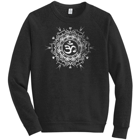 Omenuf Mandala (Distressed) Unisex Sweatshirt ECO-FLEECE