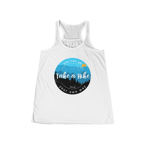 TAKE A HIKE Flowy Racerback Tank - 8 Color Choices