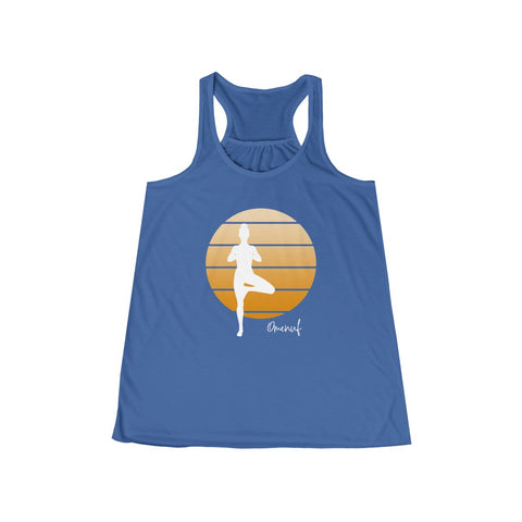TREE POSE Flowy Racerback Tank - 11 Colors