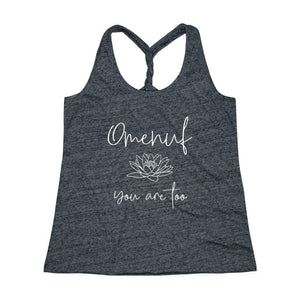 Cosmic Twist Back Tank Top (Omenuf - You Are Too)