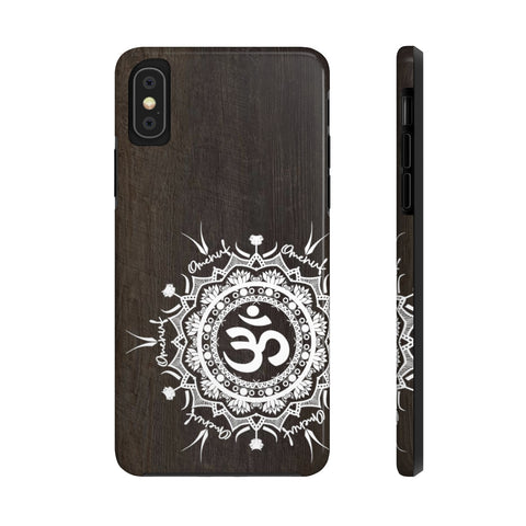 OMENUF - Omenuf Om Mandala - Tough Phone Cases (CASE MATE)