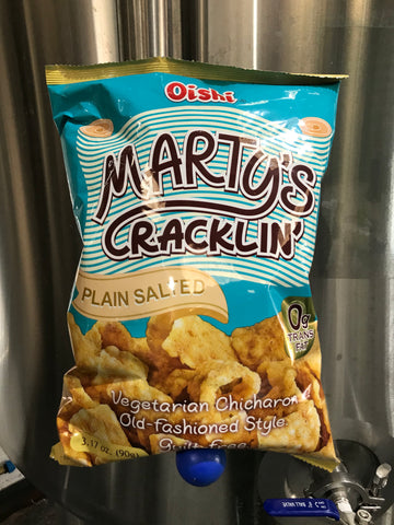 MARTY'S CRACKLIN' CHICARRONS PLAIN SALTED!