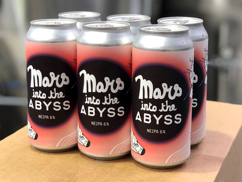 MARS INTO THE ABYSS NEIPA - 6 PACK