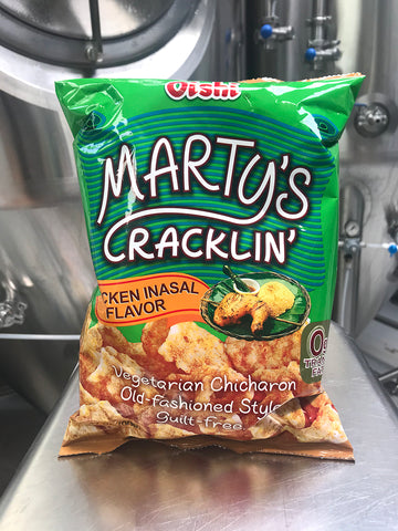 MARTY'S CRACKLIN' CHICARRONS