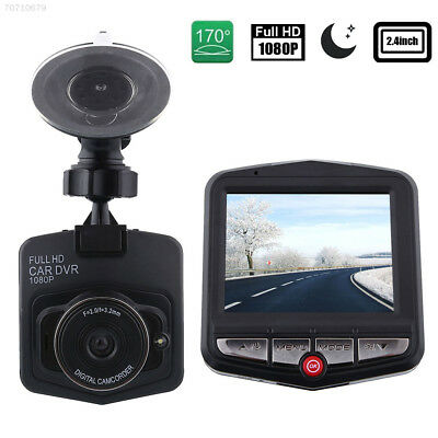 Full HD 1080P Car DVR Vehicle Camera Video Recorder Dash Cam - Black
