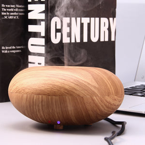 Wood Grain Quiet Air Purification Humidification Essential Oil Aroma Diffuser