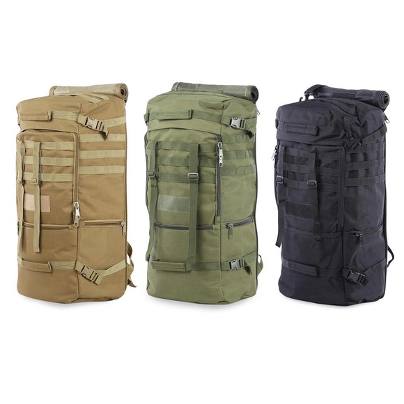 Outdoor Men Women Military Bag for Climbing Camping Hiking