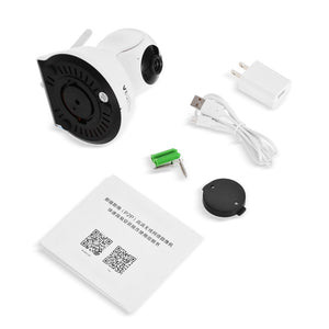 WiFi Network IP Camera 720P 1.0MP-75 Degree FOV Night Vision IR