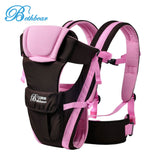 Baby Carrier Backpack Multipurpose Adjustable Buckle Mesh Wrap