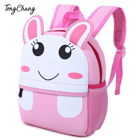 Colorful Cartoon Animal Design Waterproof Durable School Bag for Children