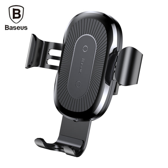 Baseus Wireless Fast Charger Gravity Car Mount