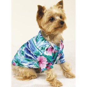 Hawaiian Hound Classic Luau Shirts by Casual Canine
