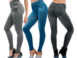 Genie Slim Jeggings (3-Pack) New Larger Sizes!