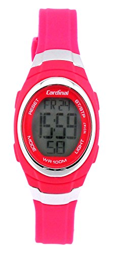 Cardinal Quartz Digital Watch PINK