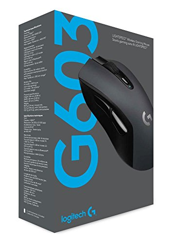 Logitech G603 LIGHTSPEED Wireless Gaming Mouse, Ergonomically Designed