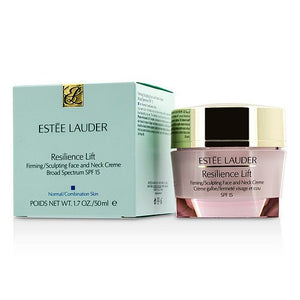 Estee Lauder Resilience Lift Firming/Sculpting Face and Neck Creme Broad Spectrum SPF 15 for Normal / Combination Skin 1.7 oz (50ml/1.7oz) - DealsandLiquidations.com