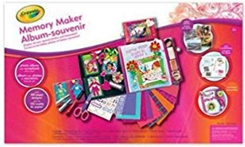 Crayola Memory Maker Scrapbook Kit