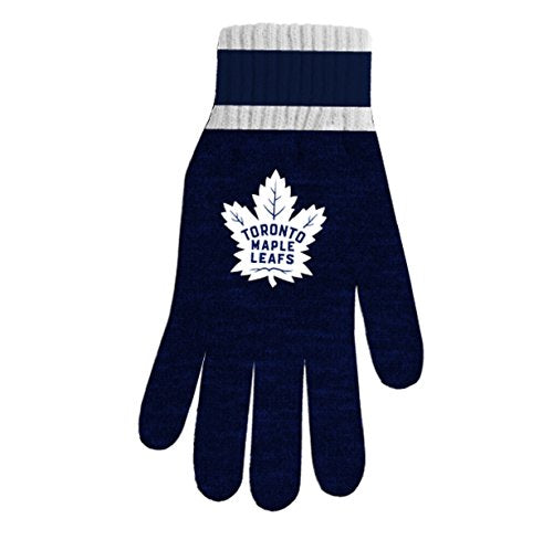NHL Men's Toronto Maple Leafs Thermal Fan Gloves