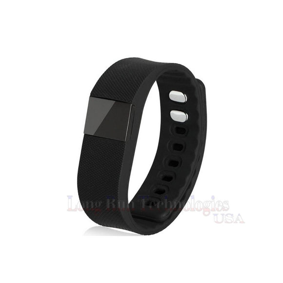 Smart Smartband Multi-Function Bluetooth Fitness Tracker - Black
