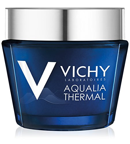Vichy Aqualia Thermal Night Spa Replenishing Anti-Fatigue Night Cream and Face Mask with Hyaluronic Acid - DealsandLiquidations.com