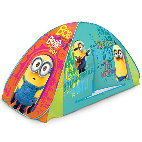 Play Hut Minions 2-in-1 Tent, Yellow, 72